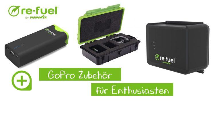Re-Fuel GoPro Zubehör