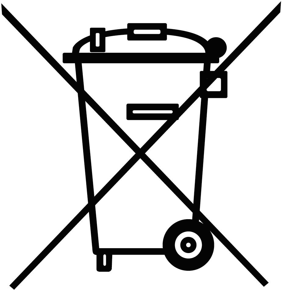 Entsorgungshinweis für Elektroaltgeräte