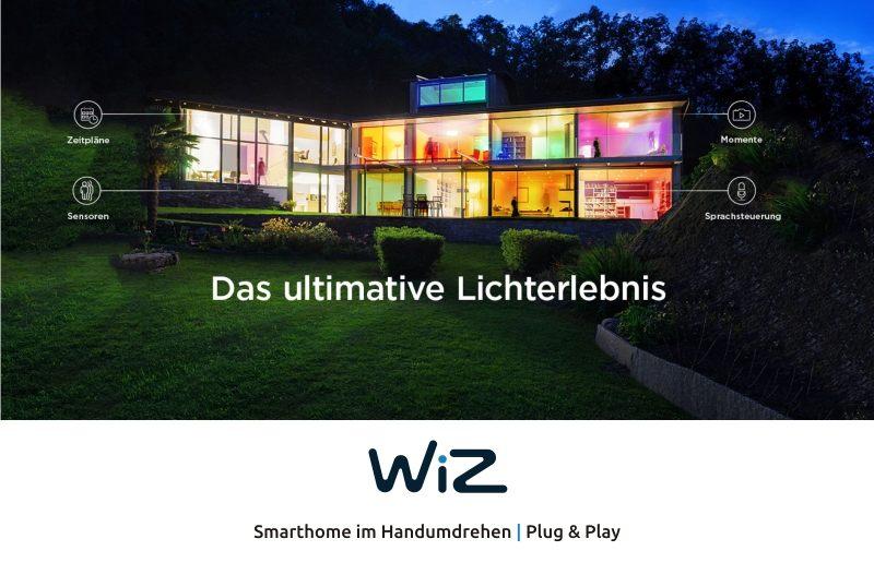WiZ | Smarthome im Handumdrehen
